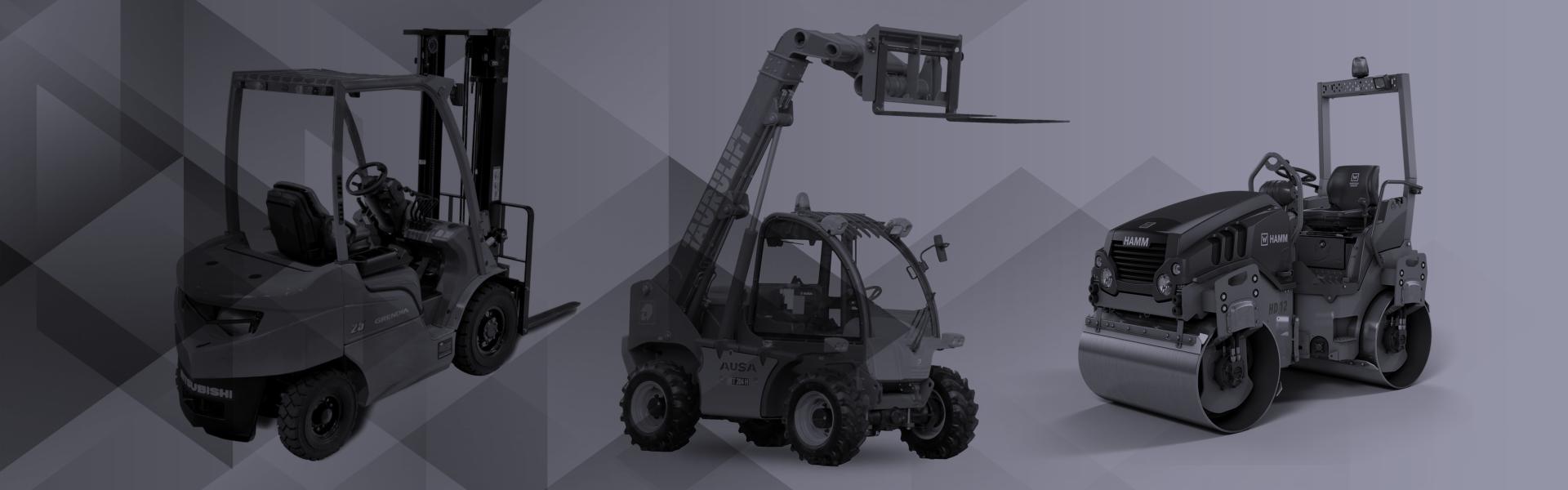 Alquiler de maquinaria y medios auxiliares