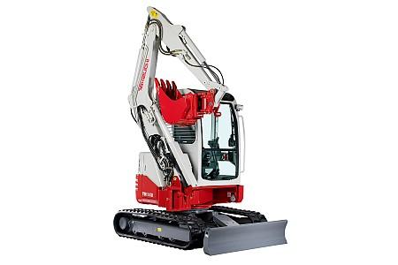 Miniretro excavadora marca Takeuchi modelo TB138FR