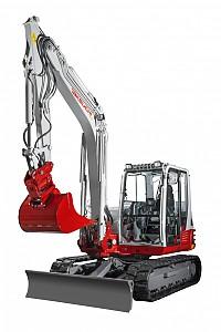 Miniretro excavadora marca Takeuchi modelo TB290
