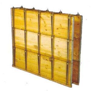 Encofrado de madera tricapa